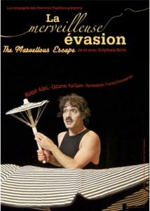 the marvellous escape, Stéphane Botti, Compagnie des Hommes Papillons